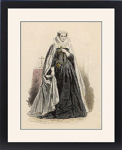 Framed Print of Mary, Queen of Scots by Prints Prints Prints