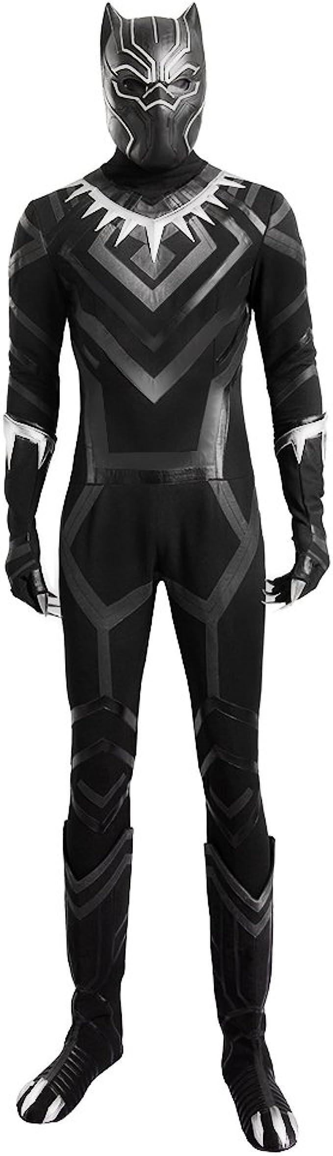 hzym Hombre Capitán América 3 Guerra Civil Black Panther cosplay ...