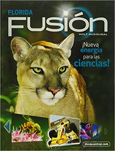 Buy Fusion Florida Grade 7 Holt Mcdougal Science Fusion Spanish