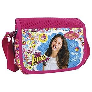 SOY LUNA - Schultertasche / Umhängetasche + 16 SOY LUNA Sticker - Handtasche