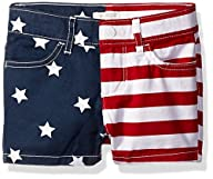 The Children's Place Girls' Americana Shorts