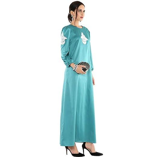 Yhjklm Elegante Mono de musulmán con Falda Larga musulmán de ...
