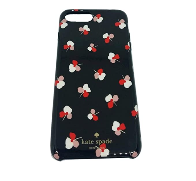 huge discount 76404 5bc69 Kate Spade Protective Case for iPhone 8 Plus, 7 Plus, 6s Plus, 6 Plus,  Lucky Pansies