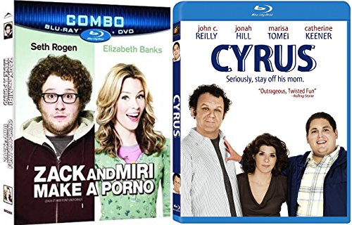 Cyrus + Zack & Miri Make a Porno Comedy Blu Ray Set 2 Movies