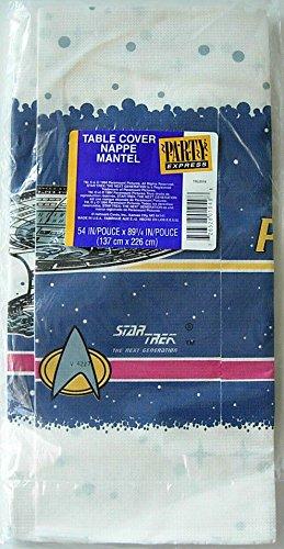 Star Trek Party Tablecover Tablecloth Decoration Vintage