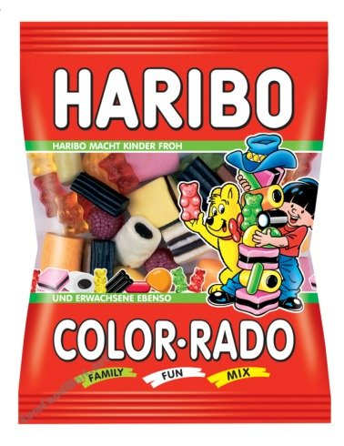 Haribo Color-Rado Gummi Candy / 200g / 7.1oz.