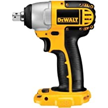 DEWALT DC820B Bare-Tool 1/2-Inch 18-Volt Cordless Impact Wrench, Tool Only, No Battery