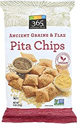 365 Everyday Value, Ancient Grains & Flax Pita Chips, 9 Oz