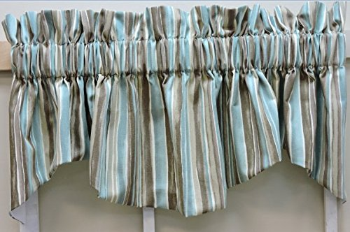 STACEY STRIPE (LINED WINDSOR (M)VALANCE 68