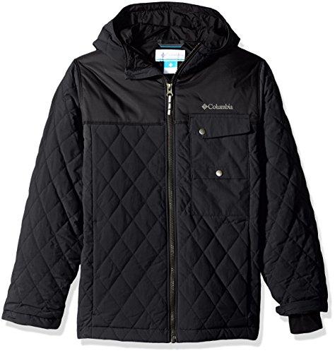 - Columbia Big Boys' Lookout Cabin Jacket, Black, Medium