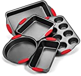 Elite Bakeware Ultra NonStick Baking Pans Set of 5
