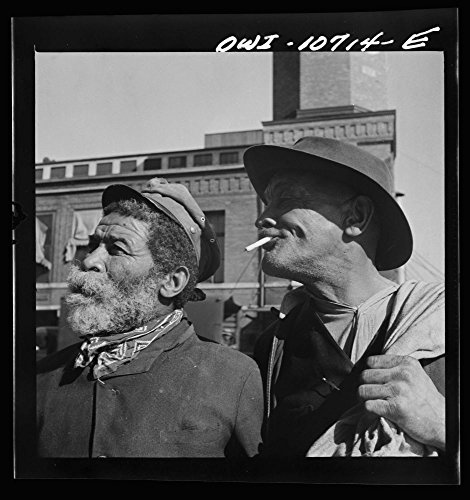 1942 Photo Washington  D C   Whiskers  And Johnny Carrol  Two Familiar Faces On The Waterfront Location  Washington D C