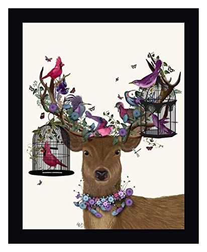 Deer Birdkeeper, Tropical Bird Cages by Fab Funky - 13