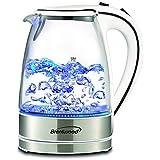 Brentwood 1.7 Liter kt-1900 W Royal Glass Electric Tea Kettle