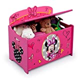 Toybox Girl Disney Minnie Mouse Pink Toy Chest (Toy boxes for girls)