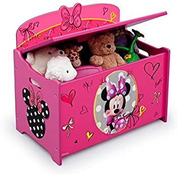 Amazon Com Toybox Girl Disney Minnie Mouse Pink Toy Chest