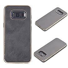 Huawei P9 Case Cover, TechCode Geometric Slim Fit Dual Layer Drop Protection Burgundy Modern Grip Screen Protective Case for Huawei P9 (Huawei P9, Black)