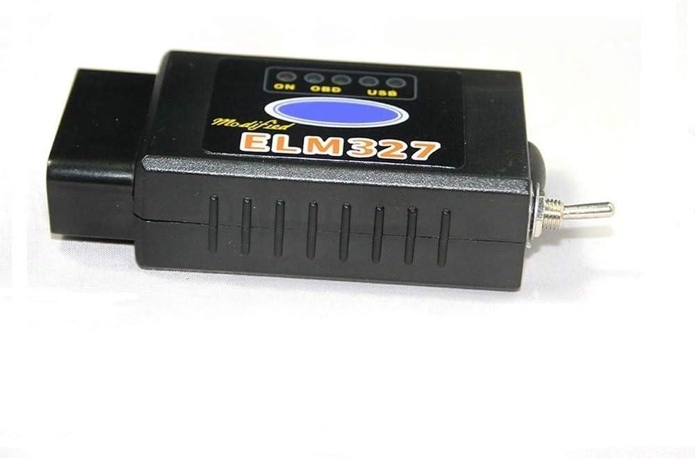 GG-1 Elm327 Bluetooth obd2 Android Scanner Herramienta de Interfaz de diagnóstico Adaptador Comprobador de luz del Motor Lector de código de Coche Tester