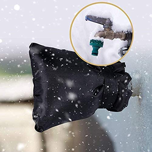 TTAototech Outdoor Tap Cover Frost Protector Tap Jacket Outdoor Tap Cosy Cover Outside Garden Faucet Socks for Freeze Protection
