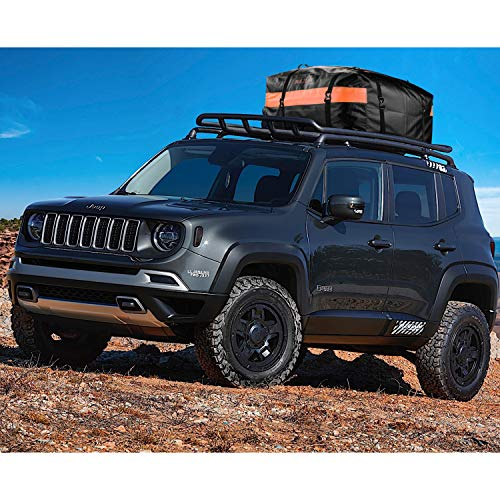 BOLTLINK Car Roof Top Cargo Carrier Bag, Made with 100% Waterproof Material, Easy Install for Most Car,Jeep, SUV with Racks
