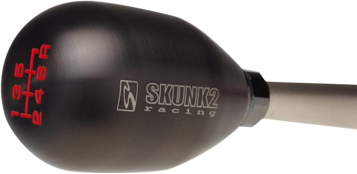 440 Grams Billet Stainless Steel PVT Titanium Coating Shift Knob Skunk2 Racing 627-99-0081 Shift Knob 10 x 1.5 Thread For Use w//6 Speed Transmission Weighted Approx