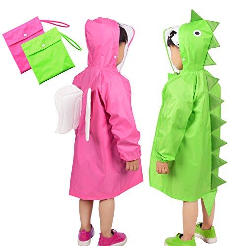 kids-raincoat-rainbrace-children-carton-waterproof-hooded-rain-poncho-age-6-12