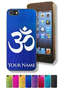 Apple iPhone 6 4.7 Case/Cover - OM AUM SYMBOL - Personalized for FREE (Click the CONTACT SELLER button after purchase and send a message with your case color and engraving request)