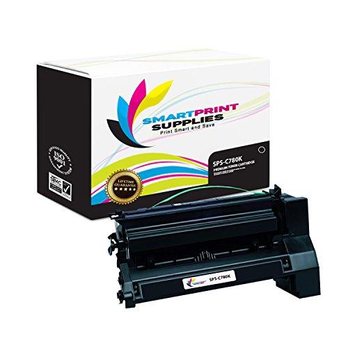 Smart Print Supplies Compatible C780 C782X1KG Black Extra High Yield Toner Cartridge Replacement for Lexmark C770 C772 C780 C782 X780 X782 Printers (15,000 - Cartridge Black Print C772