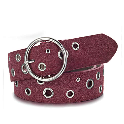Donna Cinturini In Wine Accessori Esthesis Pelle Per Cinturino Jeans OqPd1a