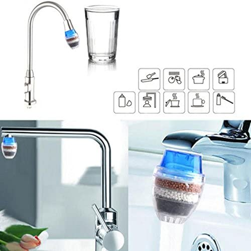 Fishing-Accessories Activated Carbon Round Faucet Water Tap Filter Clean Purifier Filtration