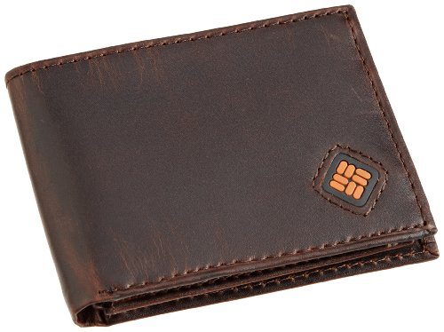 Columbia Leather Traveler Bifold Wallet