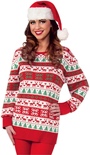 Forum Novelties Winter Wonderland Novelty Christmas Sweater, Multi,