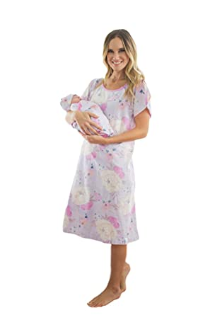 9c9704d697d91 Baby Be Mine Mommy & Baby Set - Matching Labor & Delivery Maternity  Hospital Gown Gownie