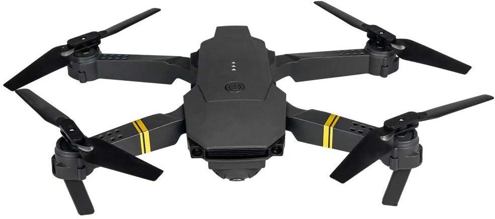 QSs-Ⓡ Drone One Key Operation RC Quadcopter con CáMara 4K HD, Mejor Drone para Principiantes con Altitude Hold, Vuelo De Trayectoria, Flip 3D, OperacióN con Una Tecla, Gris