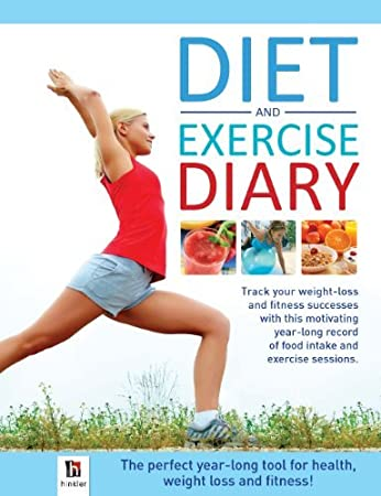 amazon diet exercise diary 並行輸入品 hinkler books pty ltd