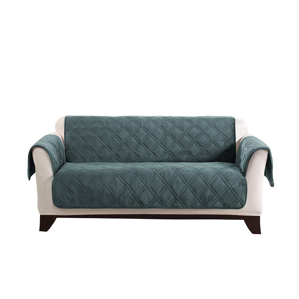SureFit Triple Protection Loveseat, Furniture Cover, Teal