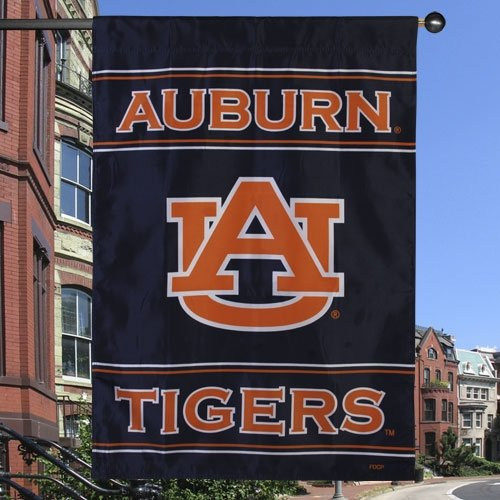 "Fremont Die NCAA Auburn Tigers 2-Sided House Flag, 28"" x 40"", Team Color"