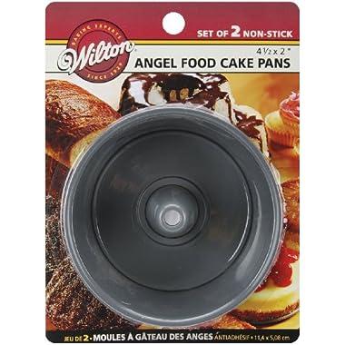 Wilton 2105-1827 Angel Food Pans, Mini, Set of 2