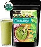 Cadane Moringa organic energy powder - Rich in Vitamins, calcium iron supplements