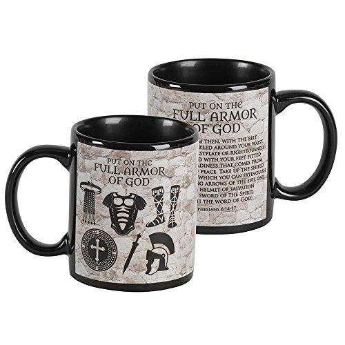 Armor Of God Black 11 Ounce Ceramic Mug
