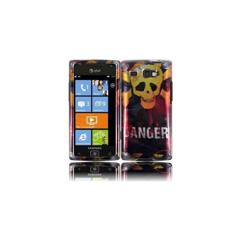 Danger Hard Case Cover for Samsung Focus Flash i677