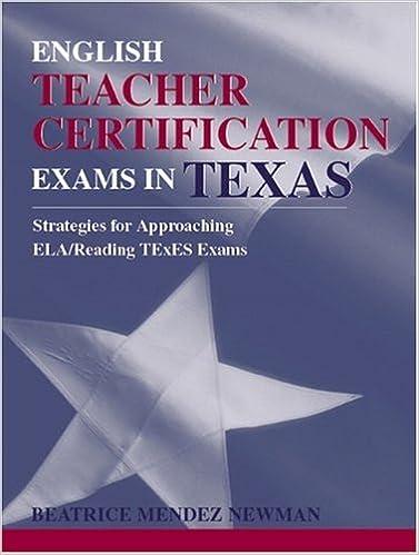 Amazon.com: English Teacher Certification Exams in Texas ...