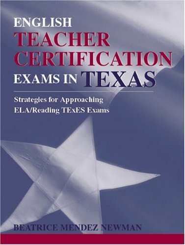 English Teacher Certification Exams in Texas
