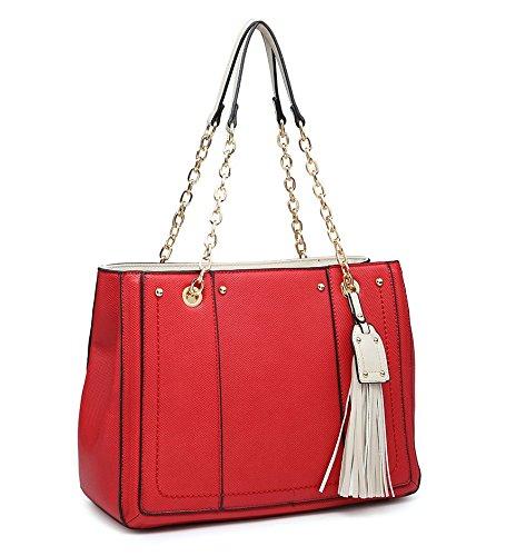 Shoulder Strap Ladies Tassel Elegant Tote Shopper lt; Strap Design Womens Large New Bag Long Shoulder Silver Bag Fashions qqx7OAR