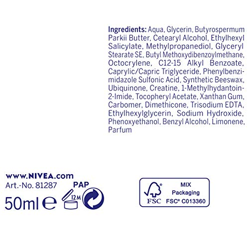 Amazon.com: Q10 Plus de Nivea Anti-Arrugas Crema de día ...