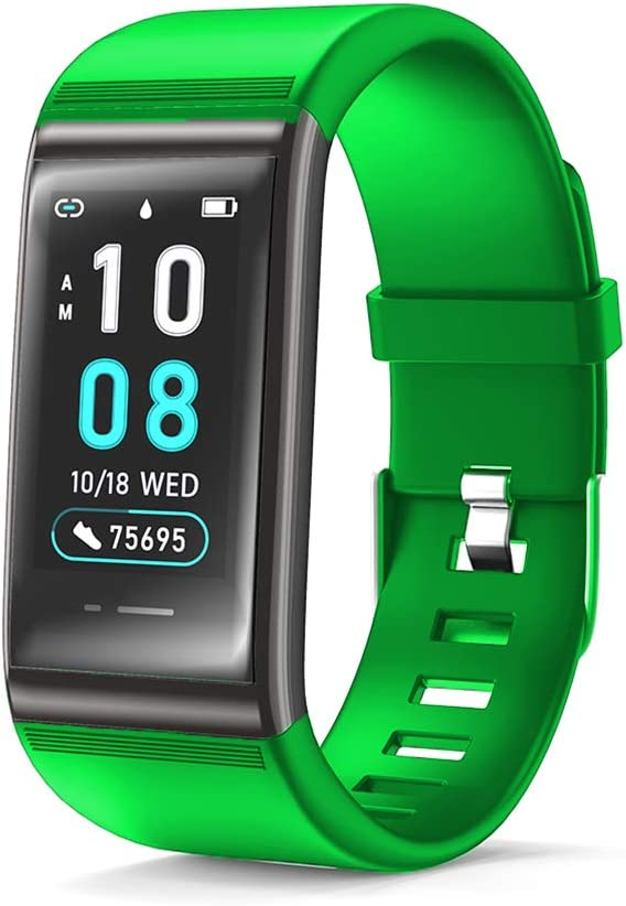 JREAR Fitness Trackers, Color Screen Fitness Watch Heart Rate Monitor Activity Tracker Fitness Wristband Smart Watch Blood Pressure
