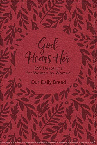 Pdf Christian Books God Hears Her: 365 Devotions for Women by Women