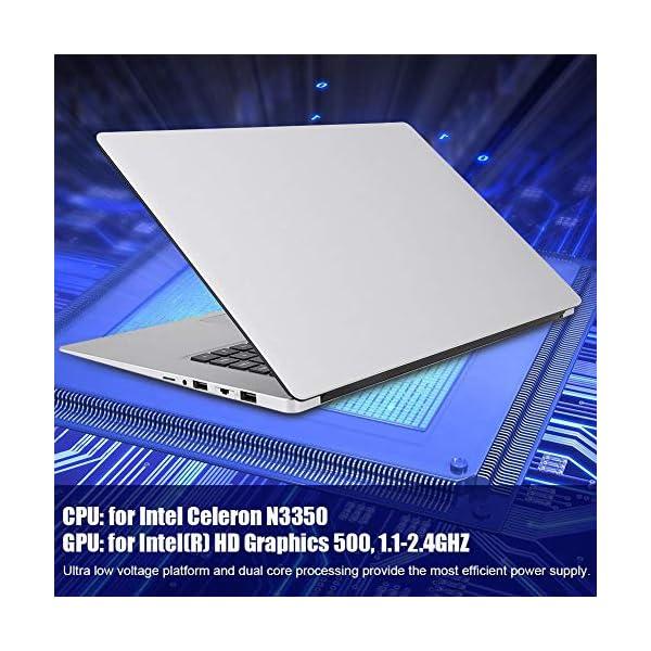 "15.6 "" Notebook - YEPO N15 15,6 pollici IPS 1920 x 1080 HD Notebook PC Laptop per Windows 10, per CPU Intel Celeron N3350, DDR3 6GB, 64GB EMMC, Supporto USB/Bluetooth 4.0/Mini HDMI/WiFi(Spina UE) 5 spesavip"
