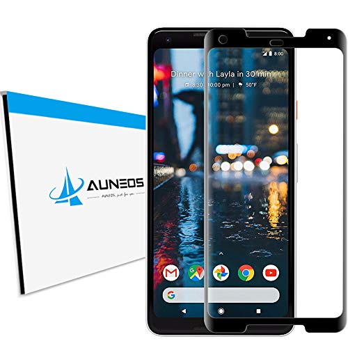 - AUNEOS [Tempered Glass] for Google Pixel 2XL Screen Protector [Edge Full Cover] [Full Glue] 9H Hardness 99.9% High Definition Ultra Clear Tempered Glass for Google Pixel 2 XL (2XL, Black)