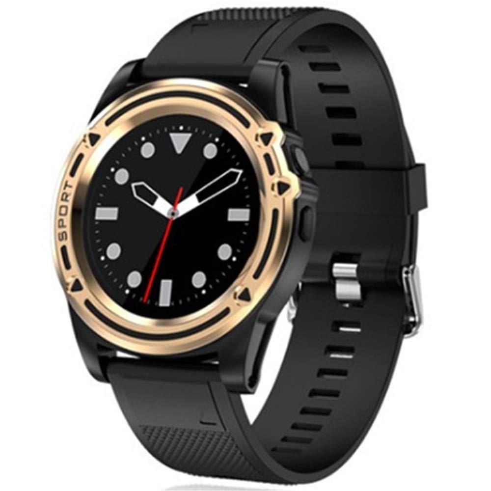 Amazon.com: Smart watch Bluetooth Full Screen Support SIM TF ...